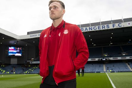 Greg Stewart on a visit to Ibrox with Aberdeen in April. Picture: Alan Harvey/SNS