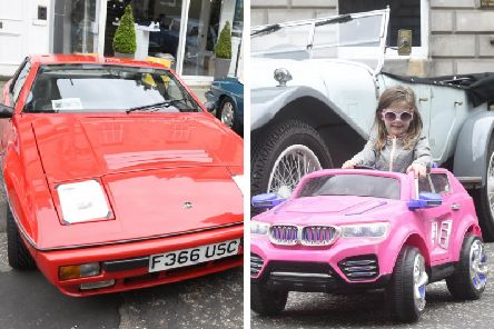 A Lotus Excel to an MGB GT: 11 of the best pictures from Edinburgh's classic car show. PICS@ Greg Macvean