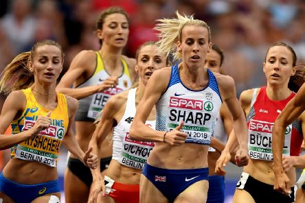 Lynsey Sharp is hoping to make a positive impact in Rabat. Picture: Getty.