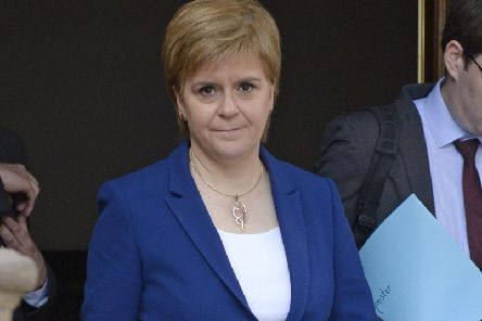 First Minister Nicola Sturgeon. Picture: SWNS