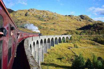 The Glenfinnan Viaduct is one the company's most famous achievements. Picture: Contributed
