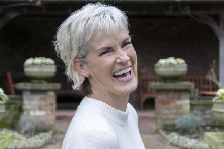 Judy Murray will be interviewed by sports presenter Jane Dougall at the Edinburgh event. Picture: Marc Atkins