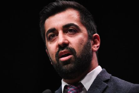 Justice Secretary Humza Yousaf told MSPs that he was unable to publish an SPFL dossier about sectarianism because of a confidentiality agreement (Picture: Jeff J Mitchell/Getty Images)
