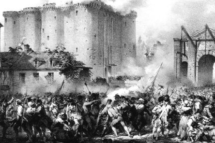 The storming of the Bastille on 14 July, 1789, during the French Revolution. What followed became known as The Terror (Picture: After Jules David/Hulton Archive/Getty)