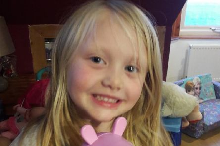 Alesha MacPhail, 6, whose body was discovered on the Isle of Bute last July. Picture: Facebook