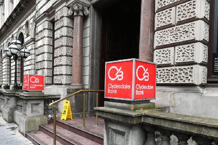 CYBG has confirmed the centuries-old Clydesdale Bank name will disappear by 2021. Picture: John Devlin