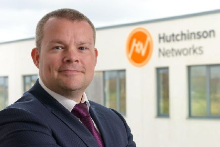 Paul Hutchinson, founder and chief executive of Hutchinson Networks. Photo: Iain Robinson