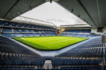 English-based firm Memorial Walls has raised a damages claim against Rangers FC after it pulled out of the proposed venture. Picture: John Devlin
