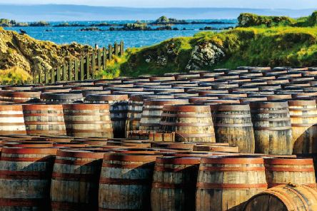 Whisky remains one of Scotland's key exports. Picture: PA