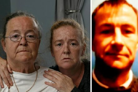 Margaret Doherty, 60, the mother of Sean Doherty, with daughter Joanne. Picture: SWNS