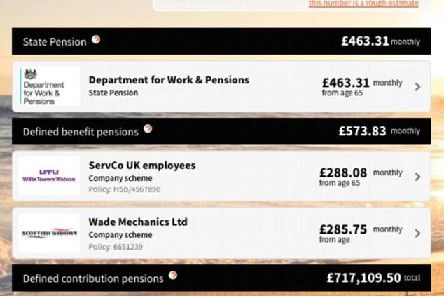 Picture: Pensions Dashboard