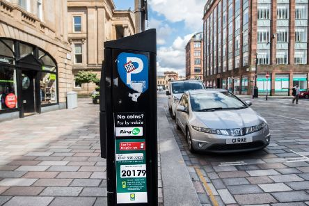 Motorists will be charged �1 for every 15 minutes, the same as on other days of the week. They will also be limited to a maximum of two hours. Picture: John Devlin