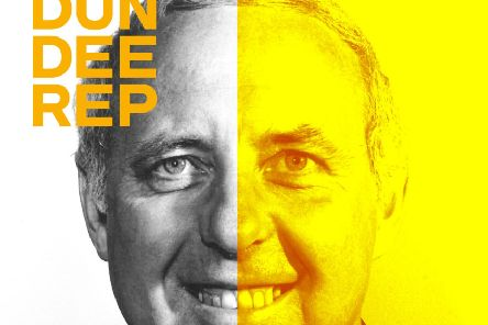 Jim McLean on the play's poster.