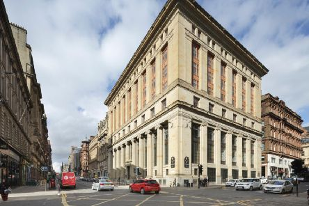 The building was once the head office for The Union Bank of Scotland. Picture: McAteer Photography