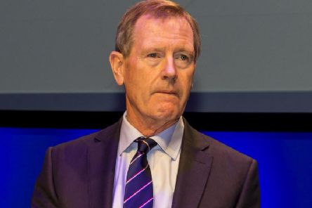 "Dave King praised Rangers fans and called the club's Scotland ""premier"" side. Picture: SNS"