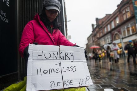 Homelessness continues to rise across Scotland. Picture: John Devlin
