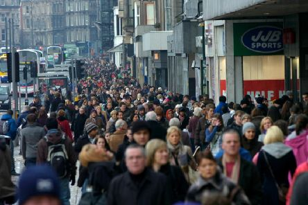 Scotland's growth rate is slower than the rest of the UK. Picture: TSPL