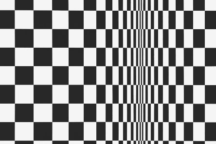 Detail from Movement in Squares, 1961, by Bridget Riley PIC: Arts Council'Collection, Southbank Centre,'London'� Bridget Riley 2019. All rights'reserved
