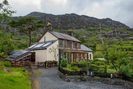 Bryn Elltyd Eco Guesthouse, in Wales, was among the most scenic