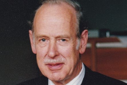 Professor Brian Gowenlock was a  key figure in Heriot-Watt University's move from Chambers Street to Riccarton.