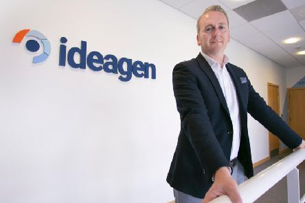 Chief executive Ben Dorks cites global growth, particularly in the US. Picture: Ideagen.