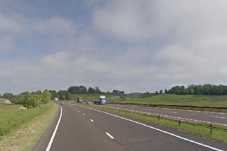 The A1 close to where the fatal collision took place (Photo: Google)