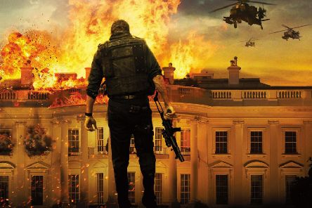 Gerard Butler and co battle to save the US President from external enemies in the film Olympus Has Fallen