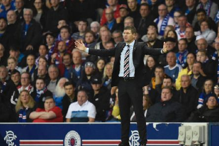 Steven Gerrard is keen to cut his 'bloated' Rangers squad. Picture: SNS