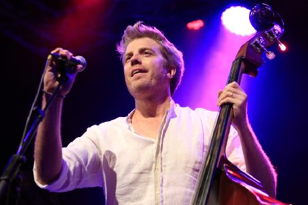 Jazz musician Kyle 'son of Clint' Eastwood and his band provided a tight, high energy set . Picture: PASCAL POCHARD CASABIANCA/AFP/Getty Images)