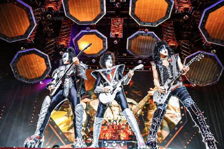 Gene Simmons' and Paul Stanley's over-the-top antics were ably abetted by Tommy Thayer and Eric Singer