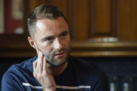 Dundee manager James McPake at Dens Park which he says is 'a massively significant place for me'. Picture: SNS