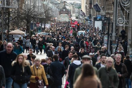 Business growth rate in Scotland lags behind the UK average. Picture: John Devlin