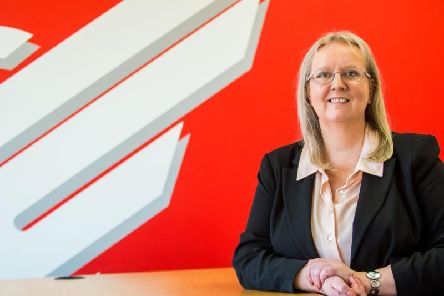 Deas said she looks forward to leading the company to further growth. Picture: Wullie Marr Photography