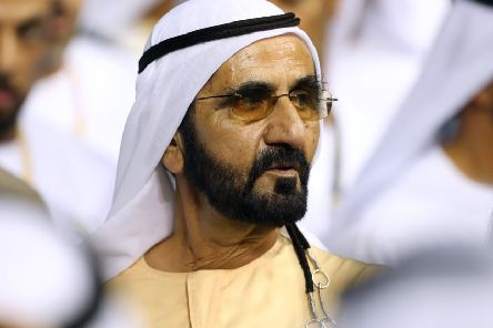 Sheikh Mohammed bin Rashid Al Maktoum. (Photo by Francois Nel/Getty Images)