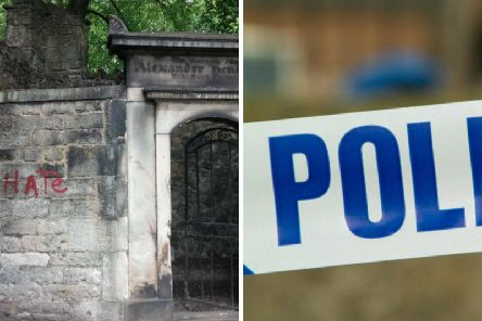 The incidents took place at New Calton Burial Ground in June.