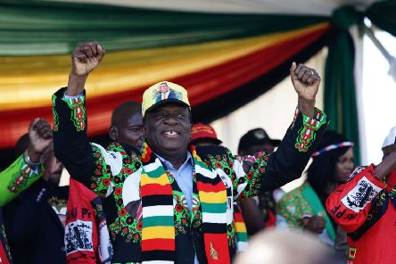Emmerson Mnangagwa has so far disappointed those hoping for a change from Robert Mugabe (Picture: Zinyange Auntony/AFP/Getty Images)