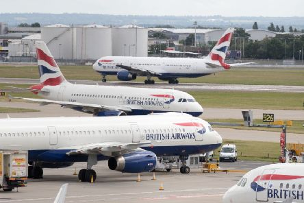 BA took legal action in an attempt to halt the strikes. Picture: PA