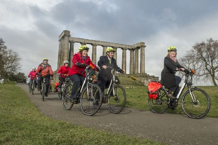 Sales of e-bikes are increasing throughout the United Kingdom. Picture: TSPL
