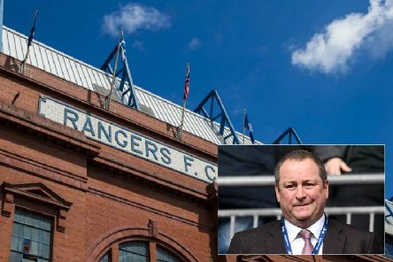 Rangers are waiting to discover what price they will pay after losing a High Court battle over merchandise with Sports Direct owner Mike Ashley (inset)