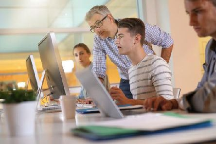 The number of people taking part in graduate apprenticeships has tripled in just a year, according to Skills Development Scotland