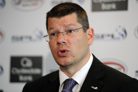 SPFL chief executive Neil Doncaster. Picture: Ian Rutherford