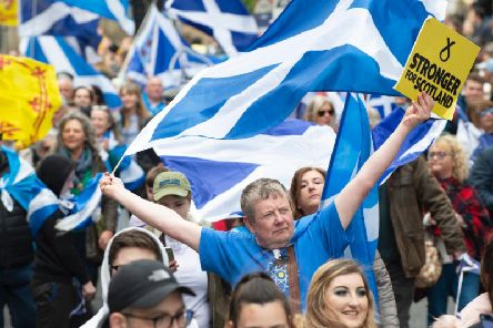 A previous AUOB march in Glasgow