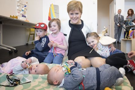 Nicola Sturgeon says the policy being implemented by Maree Todd will be 'transformational'. Picture: Jane Barlow/WPA/Getty