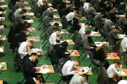 At present National 4 does not involve formal exams but relies on continuous assessment. Picture: Gareth Fuller/PA