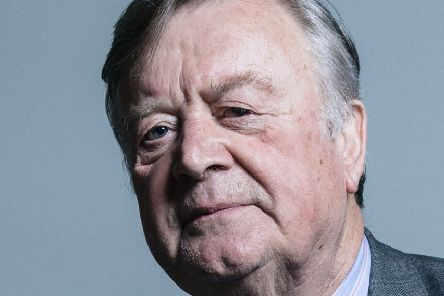 Ken Clarke was offered up as an alternative to Jeremy Corbyn  as a caretaker prime minister. Picture: TSPL