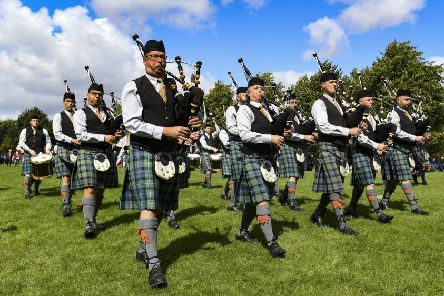 Inverary & District Pipe Band, winner of the 2019 World Pipe Band Championships