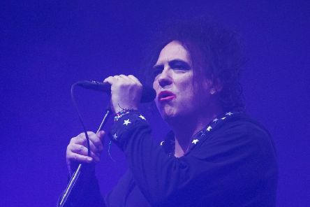 Robert Smith of The Cure PIC: Aaron Chown/PA Wire