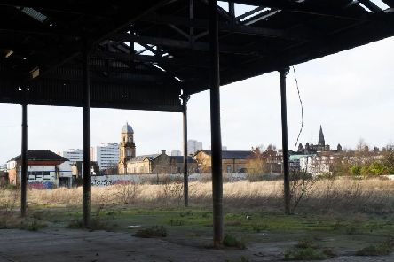 The derelict Glasgow Meat Market will be transformed into hundreds of affordable accommodation, as well a commercial space. Picture: John Devlin
