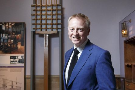 V & A Director Philip Long. Picture: Robert Perry