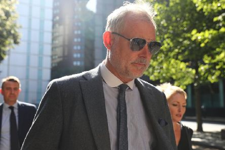 Former Blue Peter presenter John Leslie has denied sexually assaulting a woman in London more than a decade ago. Picture: SWNS